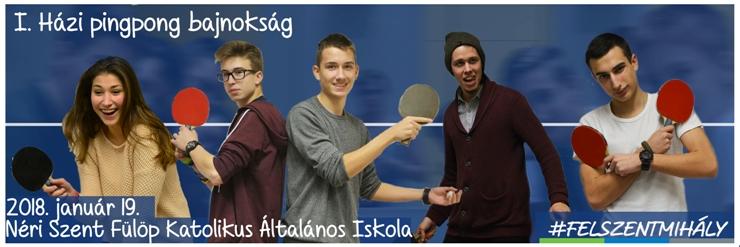 I. Házi pingpong bajnokság