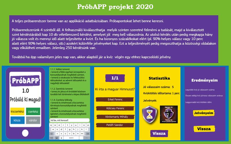 PróbAPP projekt 2020