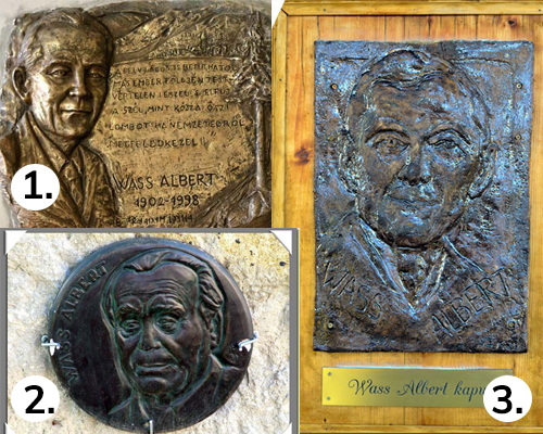 Wass Albert emlékművek